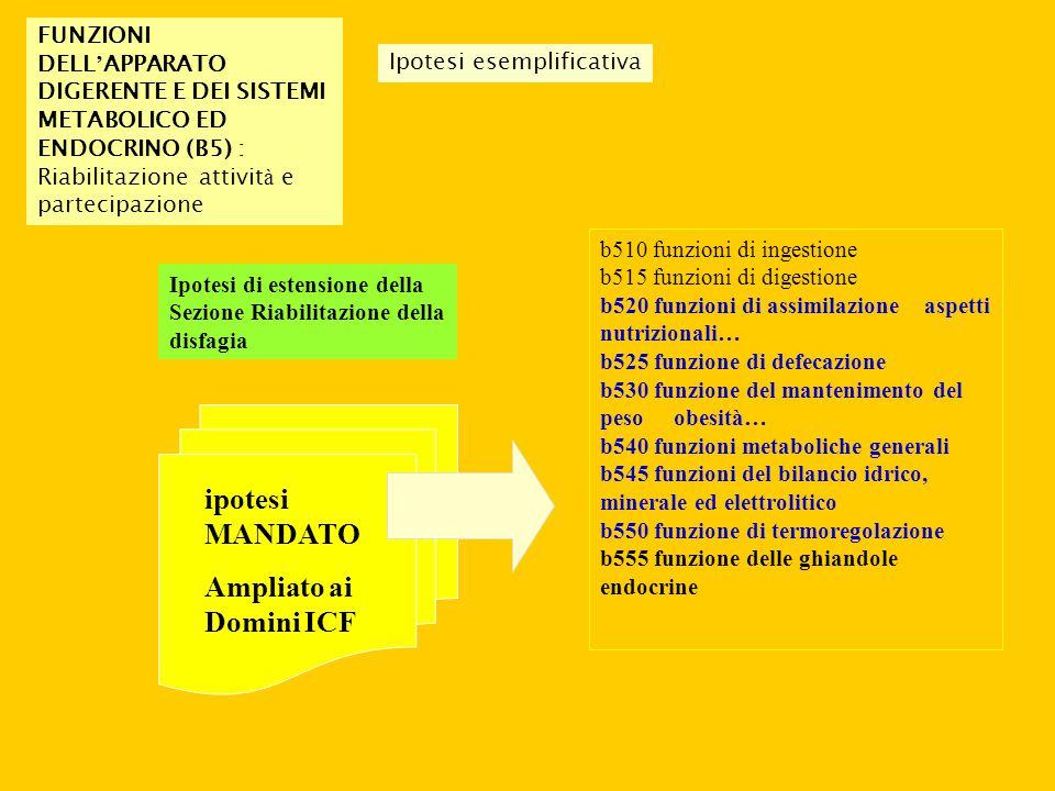 ipotesi MANDATO Ampliato ai Domini ICF