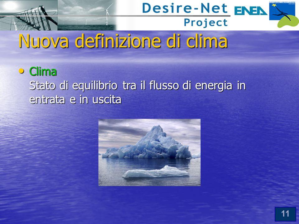 Nuova definizione di clima