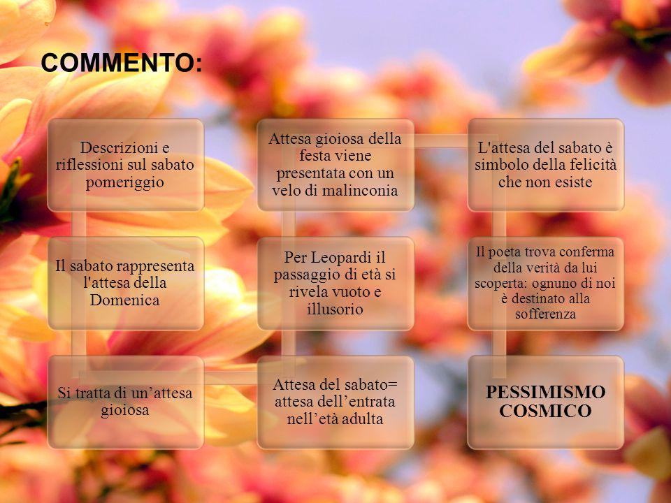 COMMENTO: PESSIMISMO COSMICO