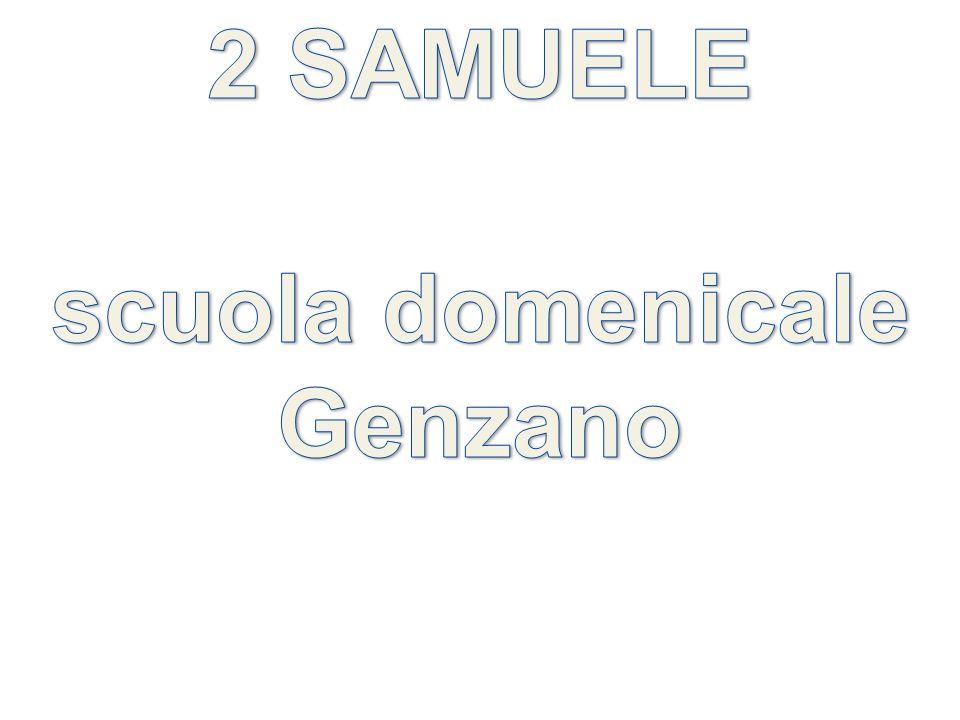 2 SAMUELE scuola domenicale Genzano