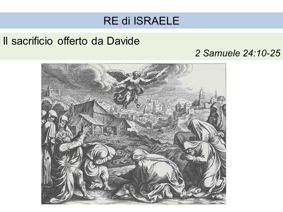 Il sacrificio offerto da Davide