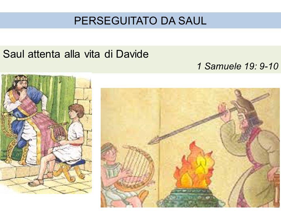 Saul attenta alla vita di Davide