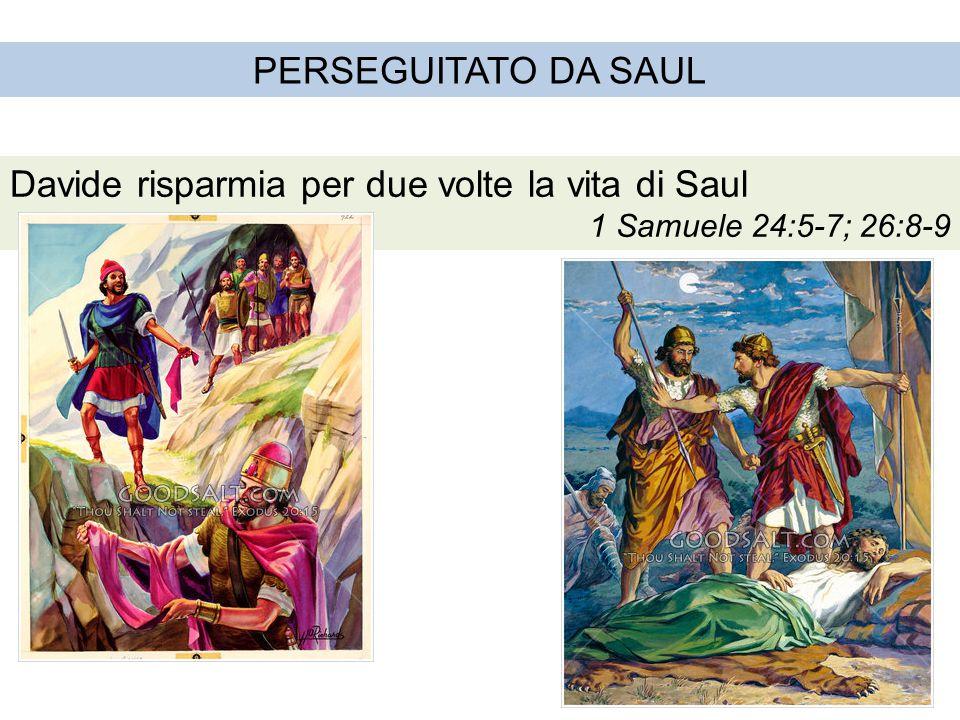 Davide risparmia per due volte la vita di Saul