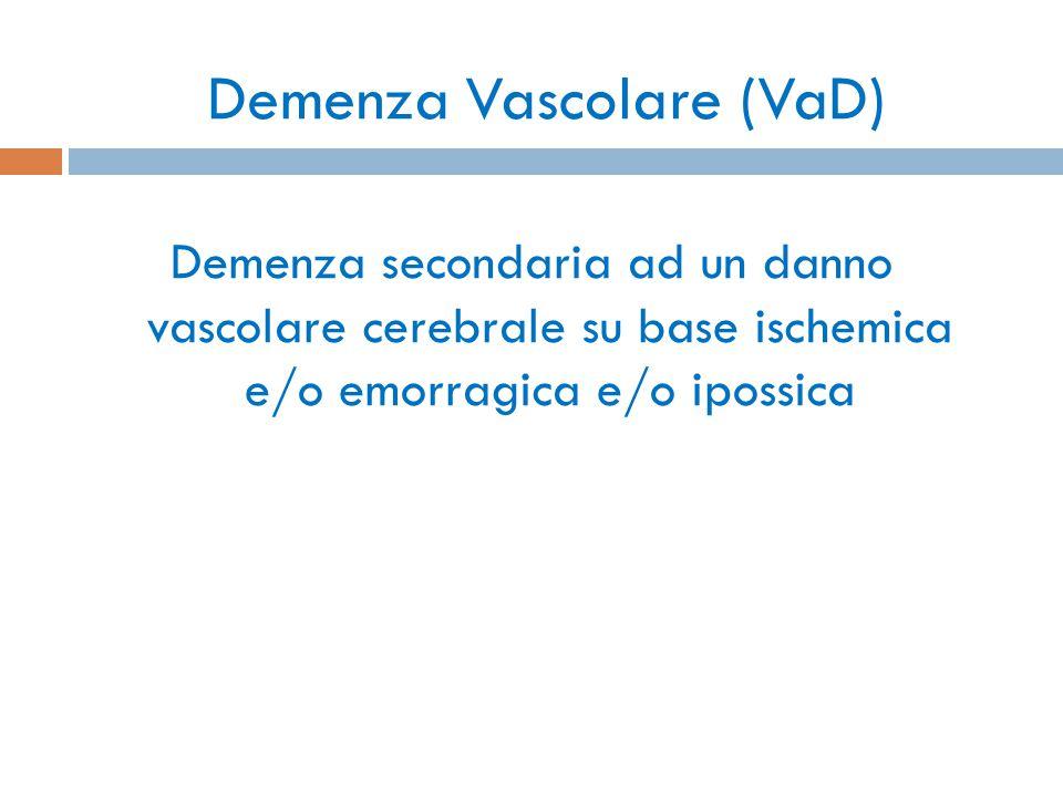 Demenza Vascolare (VaD)