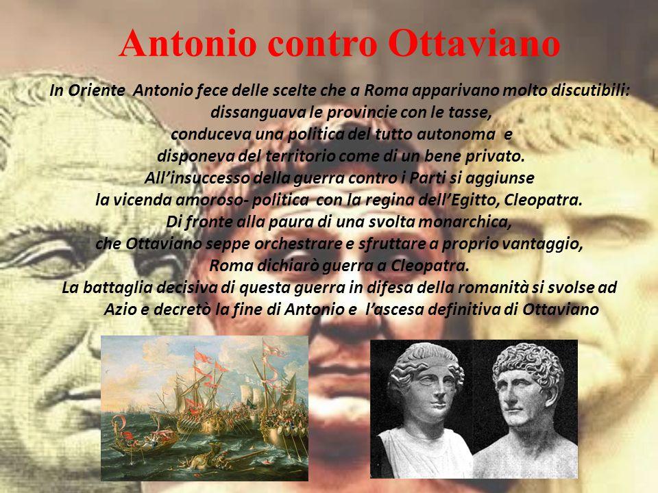 Antonio contro Ottaviano