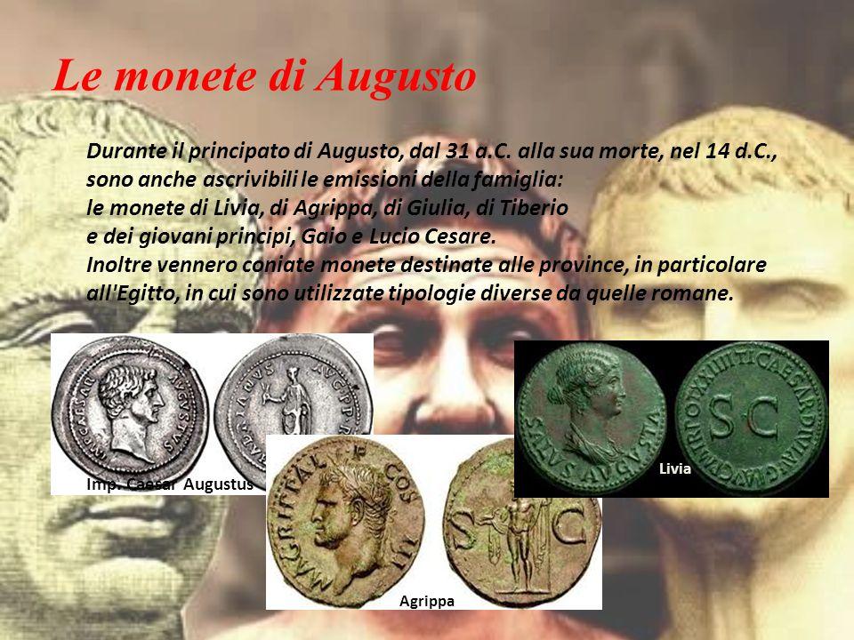 Le monete di Augusto