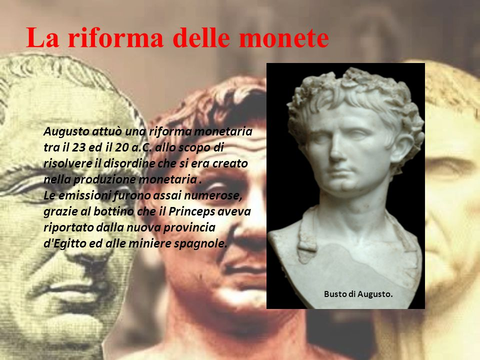 La riforma delle monete