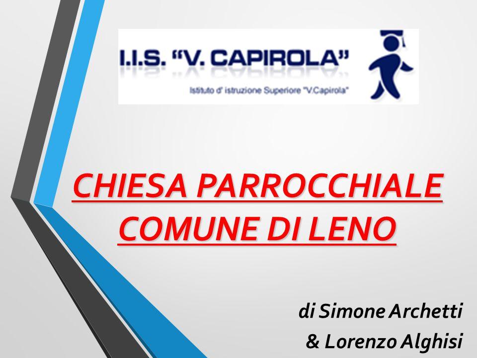CHIESA PARROCCHIALE COMUNE DI LENO