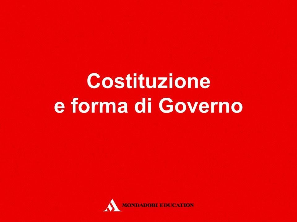Costituzione e forma di Governo