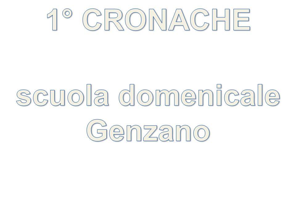 1° CRONACHE scuola domenicale Genzano