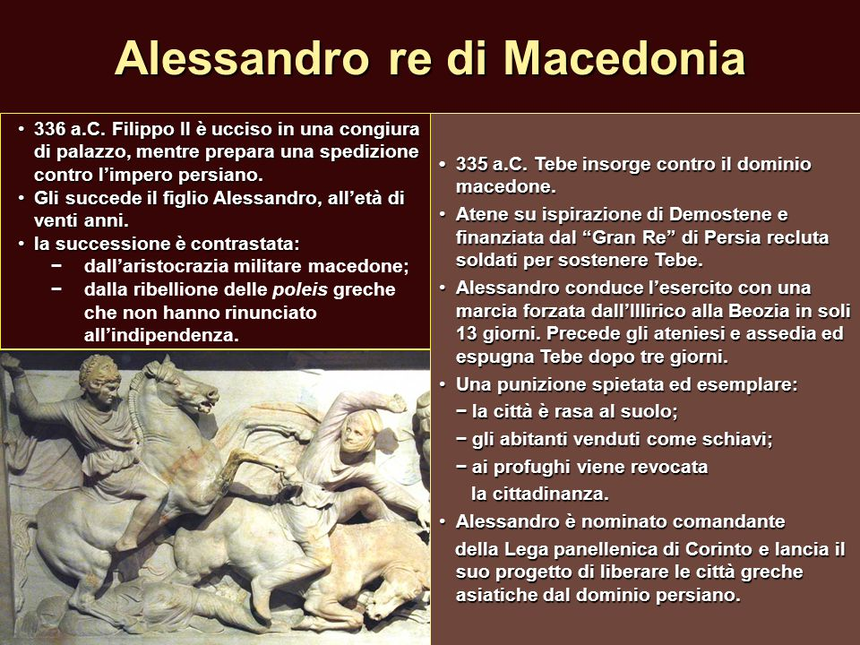 Alessandro re di Macedonia