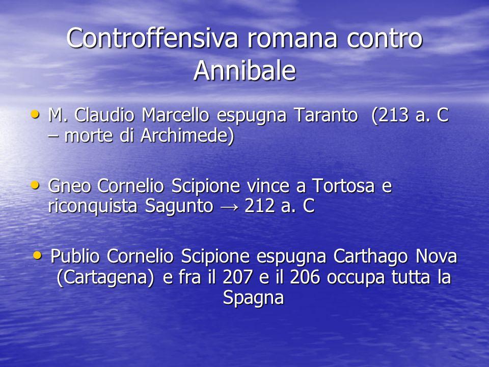 Controffensiva romana contro Annibale