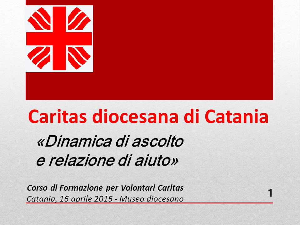 Caritas diocesana di Catania