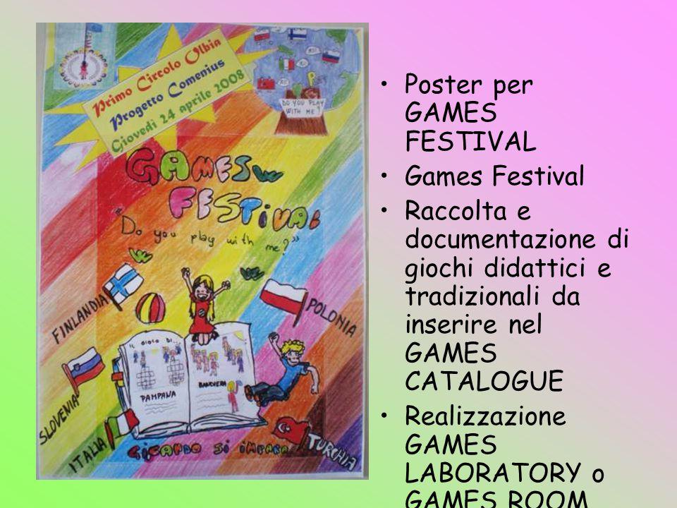 Poster per GAMES FESTIVAL