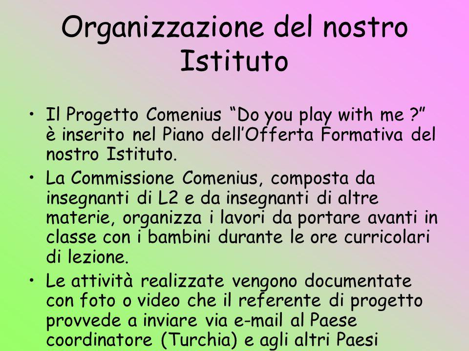 Organizzazione del nostro Istituto