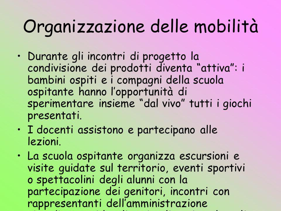 Organizzazione delle mobilità