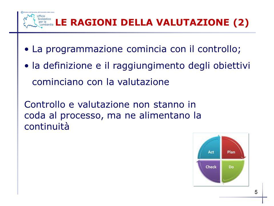 LE RAGIONI DELLA VALUTAZIONE (2)