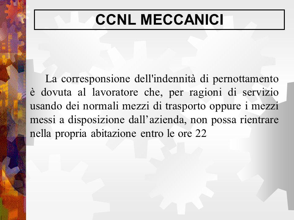 CCNL MECCANICI