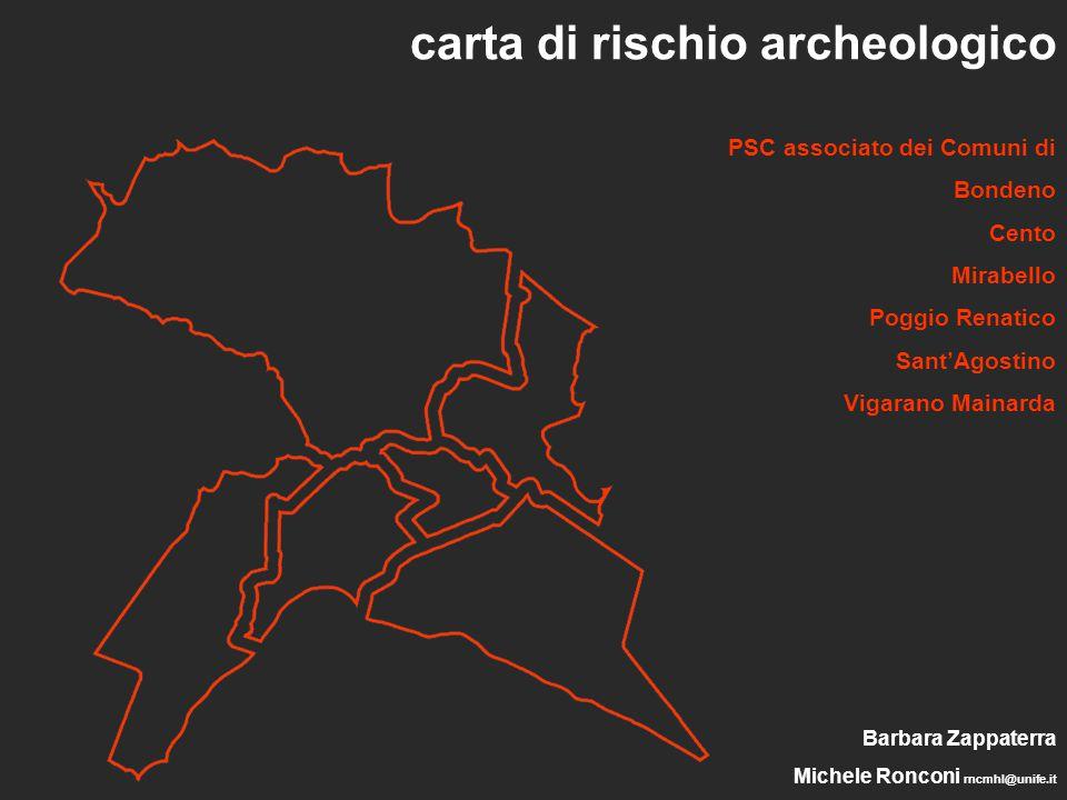 carta di rischio archeologico