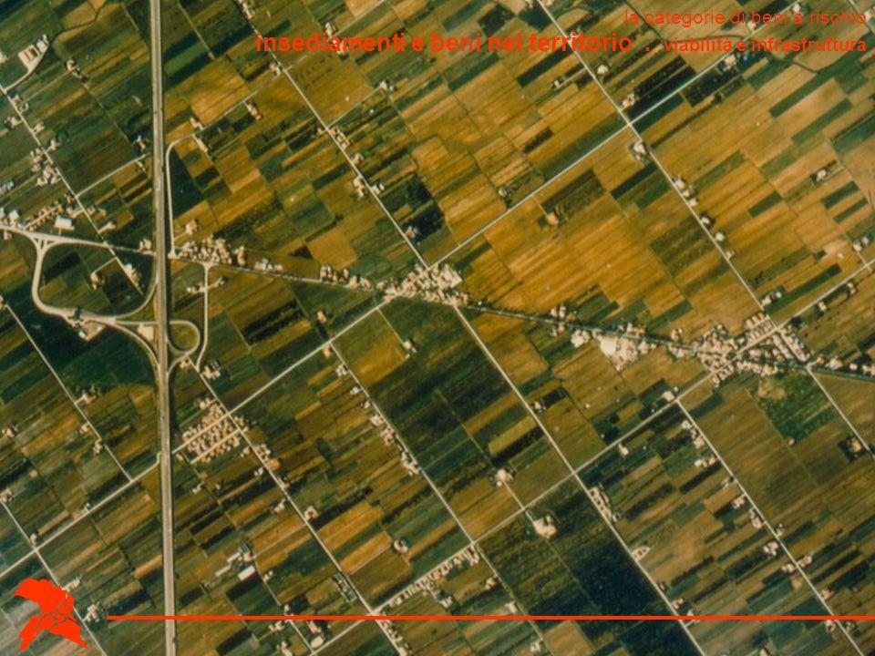 insediamenti e beni nel territorio . viabilità e infrastruttura