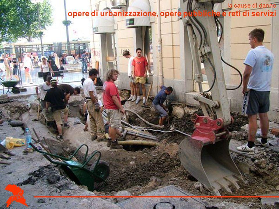 opere di urbanizzazione, opere pubbliche e reti di servizi