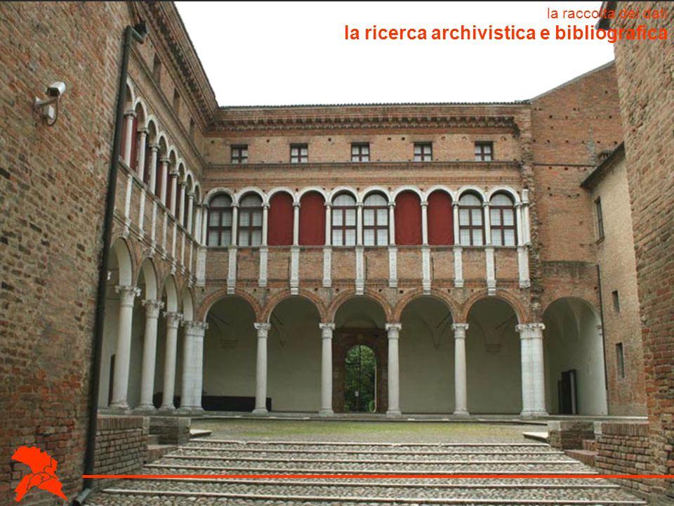 la ricerca archivistica e bibliografica