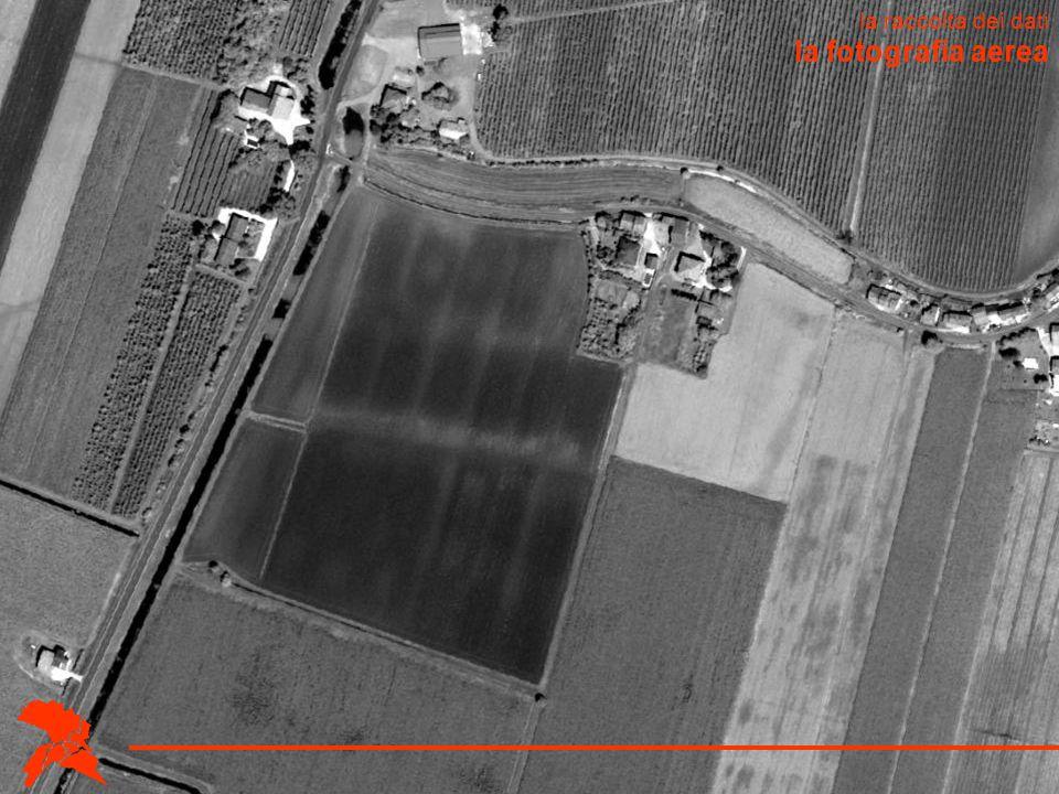 la fotografia aerea la raccolta dei dati
