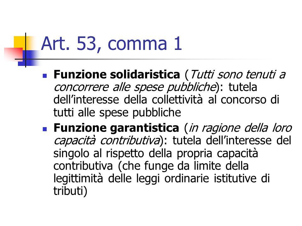 Art. 53, comma 1