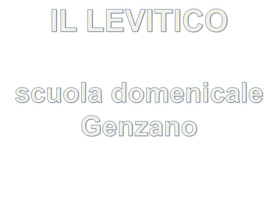 IL LEVITICO scuola domenicale Genzano