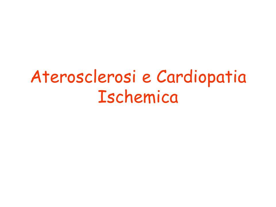 Aterosclerosi e Cardiopatia Ischemica