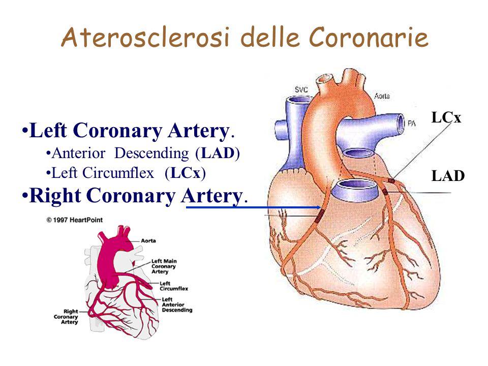 Aterosclerosi delle Coronarie