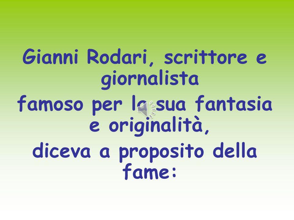 Gianni Rodari, scrittore e giornalista