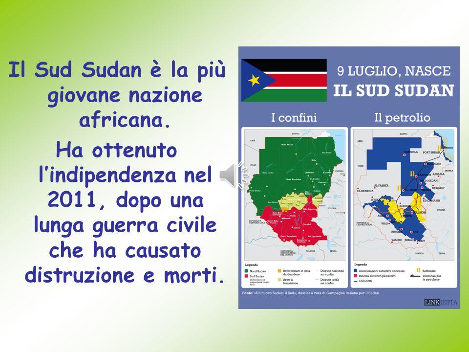 Il Sud Sudan è la più giovane nazione africana.