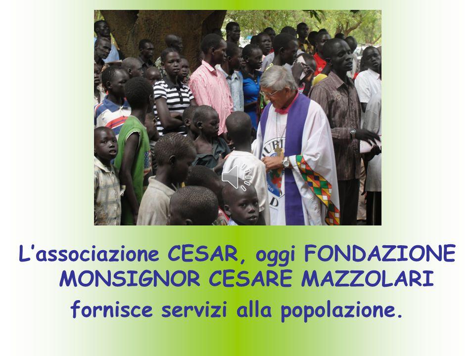 L'associazione CESAR, oggi FONDAZIONE MONSIGNOR CESARE MAZZOLARI