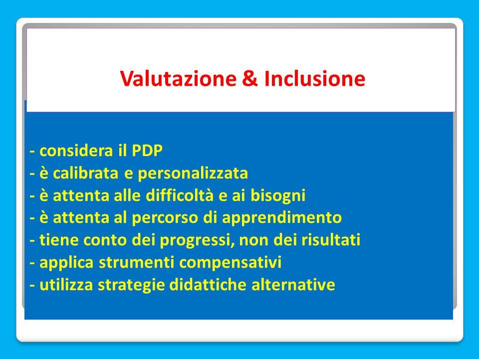 Valutazione & Inclusione