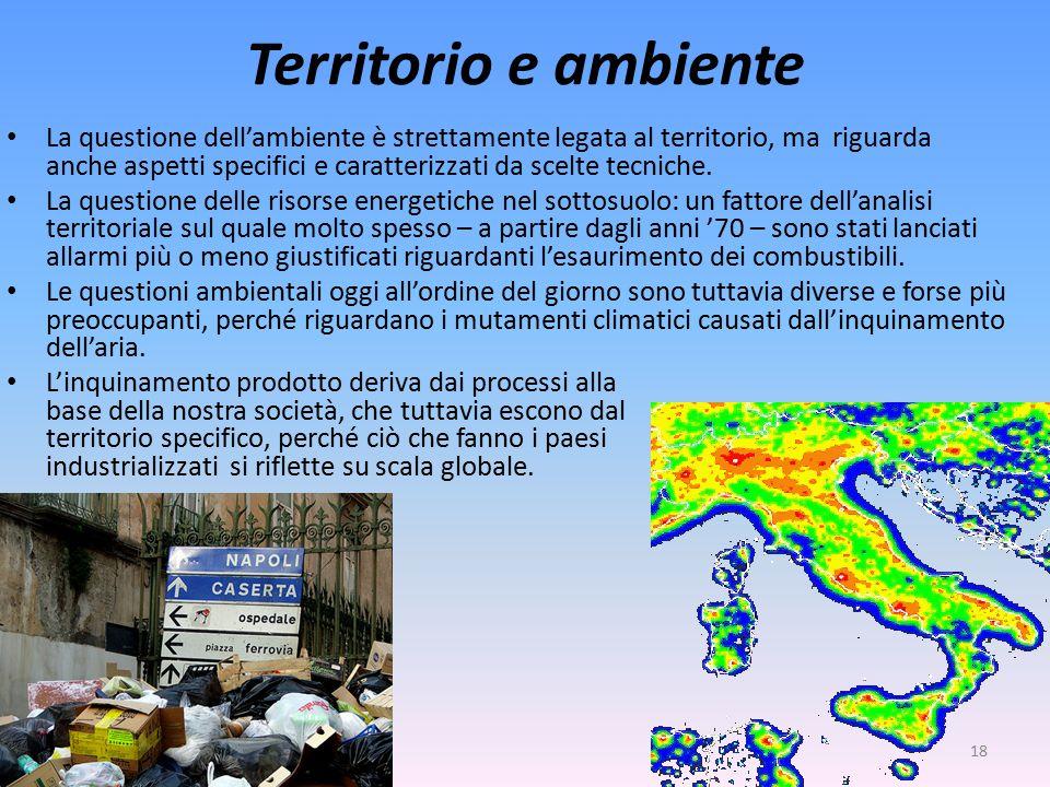 Territorio e ambiente