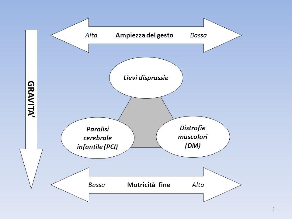 Paralisi cerebrale infantile (PCI) Distrofie muscolari (DM)
