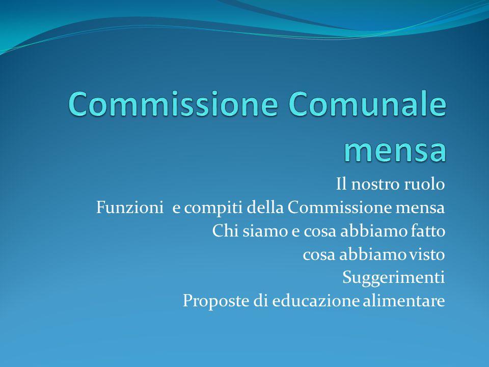 Commissione Comunale mensa