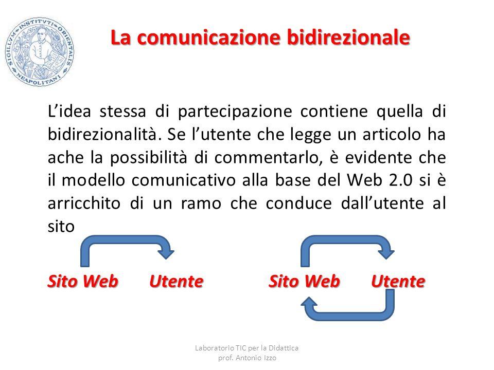 La comunicazione bidirezionale