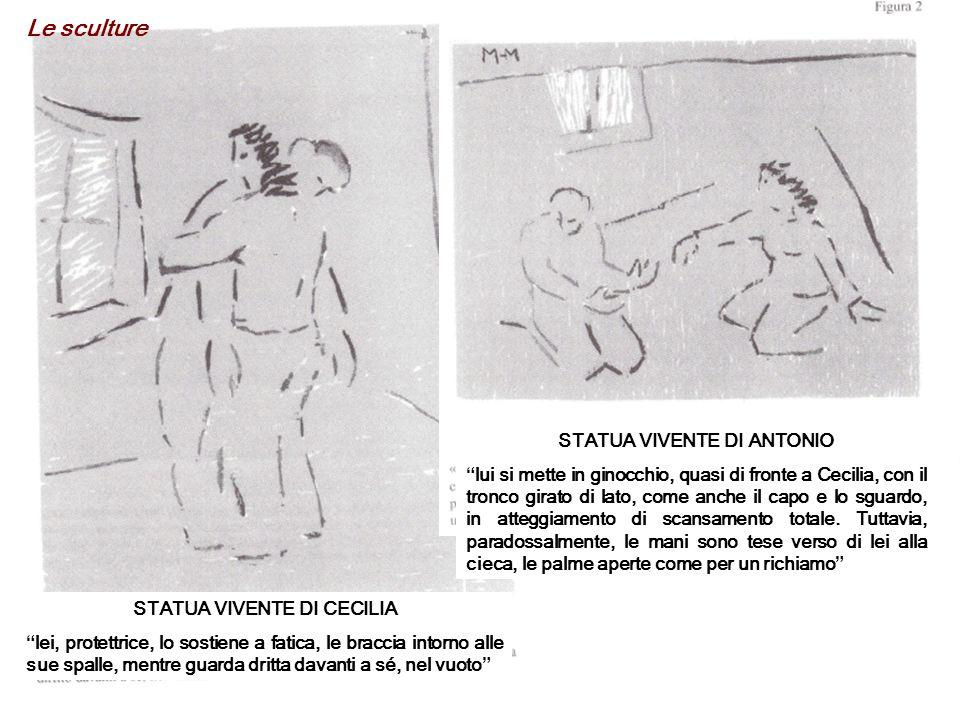 STATUA VIVENTE DI ANTONIO STATUA VIVENTE DI CECILIA