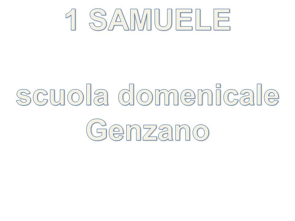 1 SAMUELE scuola domenicale Genzano