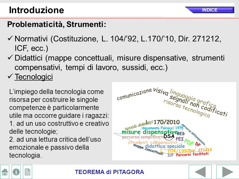 Introduzione Problematicità, Strumenti: