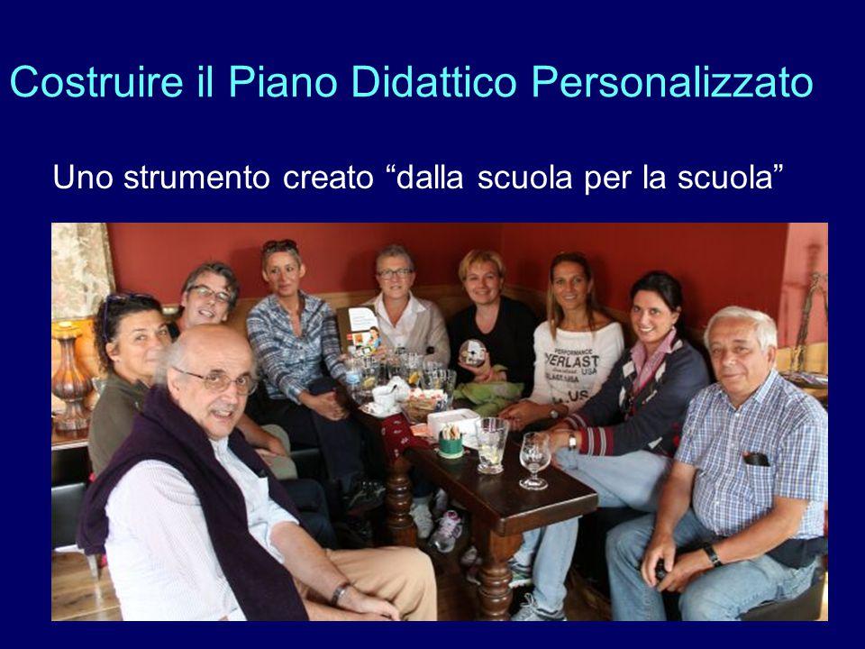 Costruire il Piano Didattico Personalizzato