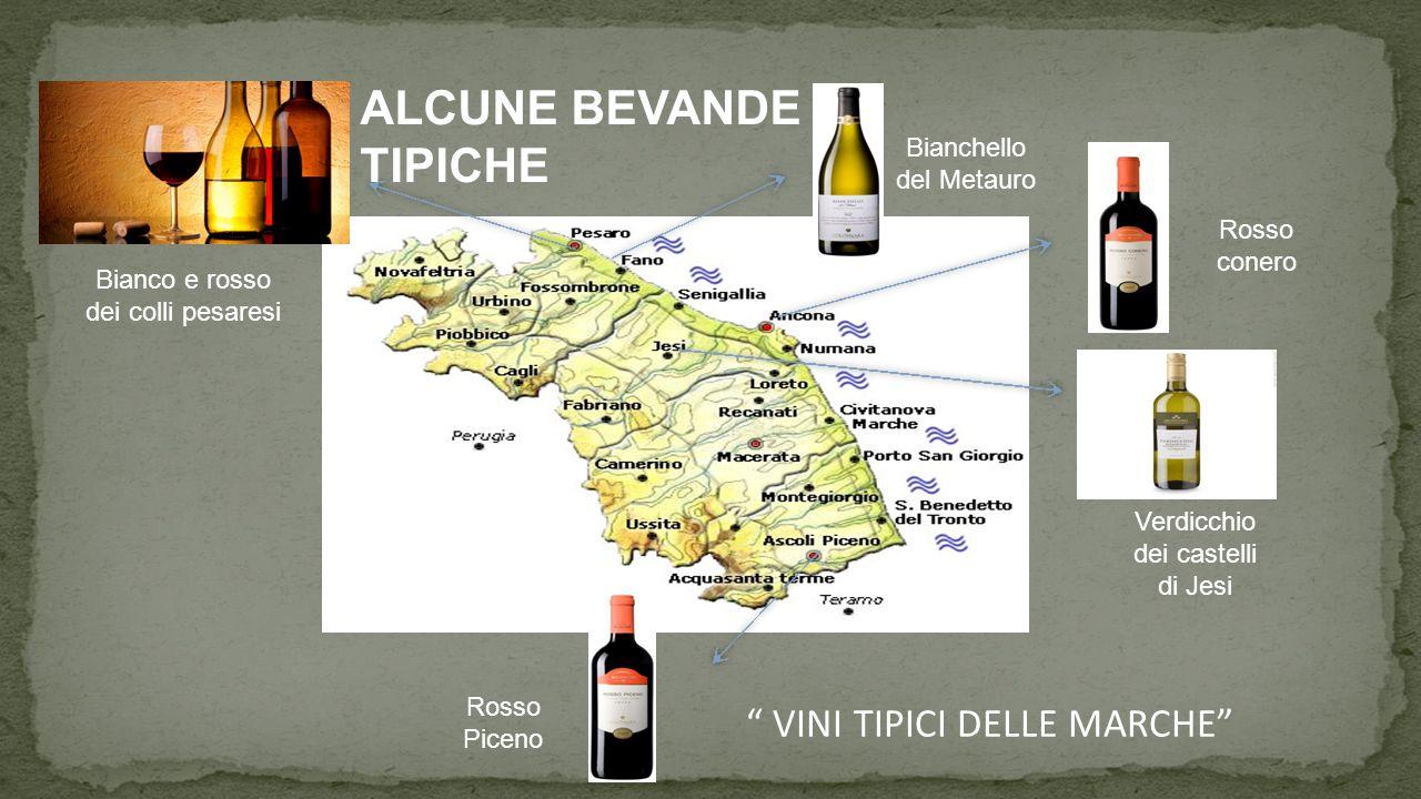 ALCUNE BEVANDE TIPICHE