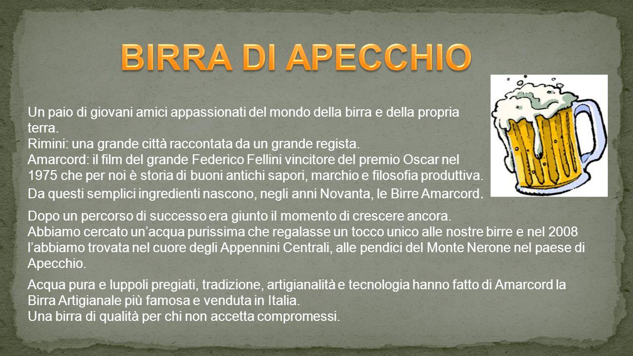 BIRRA DI APECCHIO