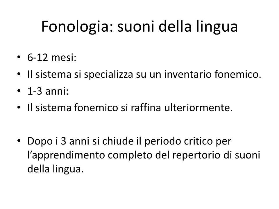 Fonologia: suoni della lingua