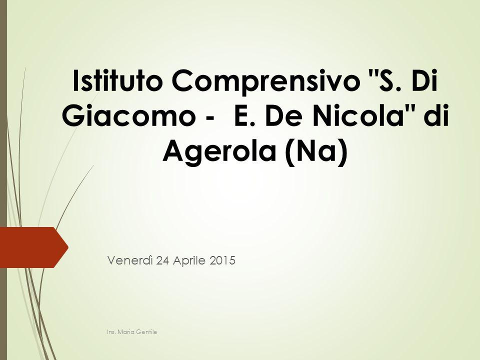 Istituto Comprensivo S. Di Giacomo - E. De Nicola di Agerola (Na)
