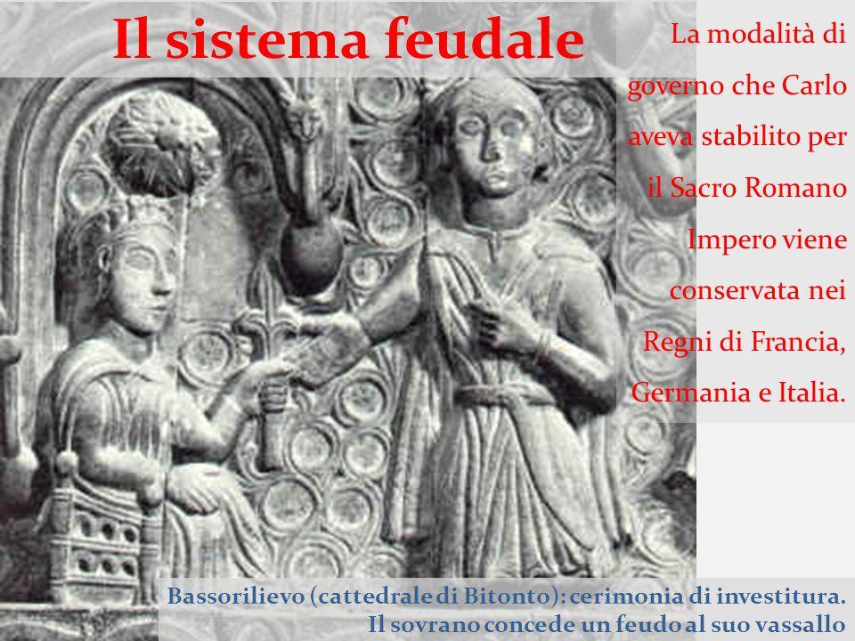 Il sistema feudale