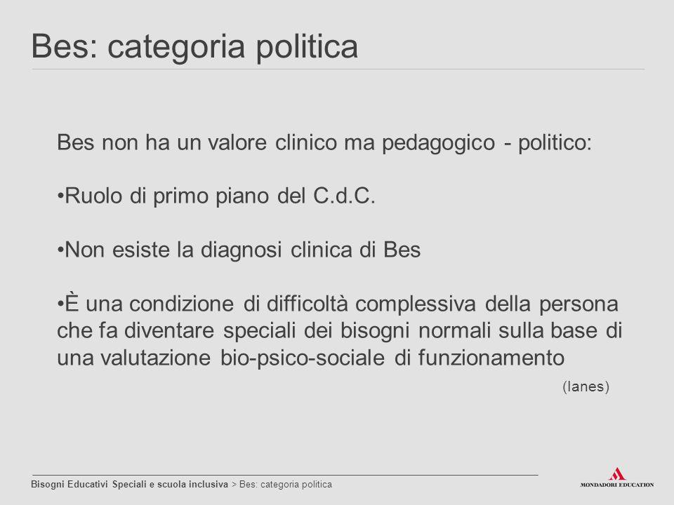 Bes: categoria politica