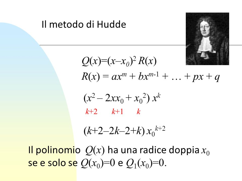 R(x) = axm + bxm-1 + … + px + q